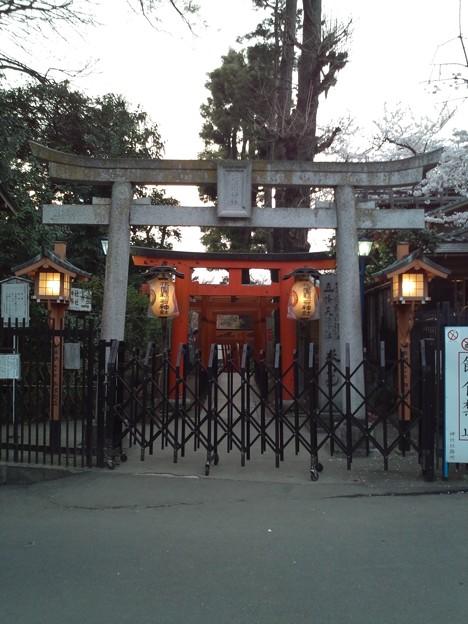 花園神社。