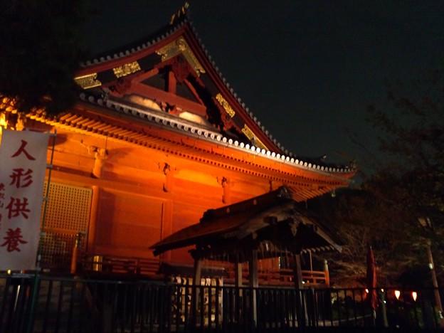 夜の寛永寺。