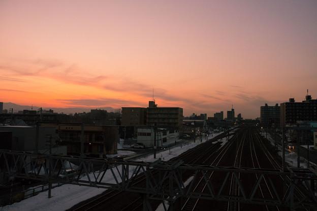 白石駅にて.4