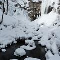 アシリベツの滝の氷瀑3
