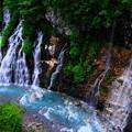 写真: 美瑛 白ひげの滝4