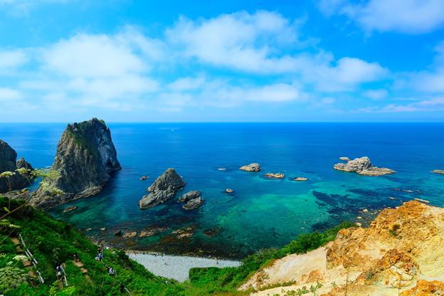 島武意海岸1