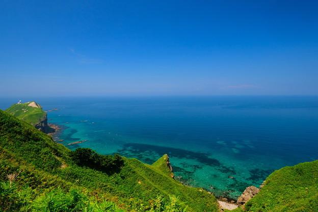 写真: 夏の神威岬 その2