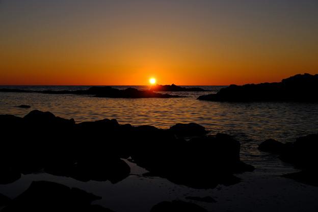 黄金岬の落日その1