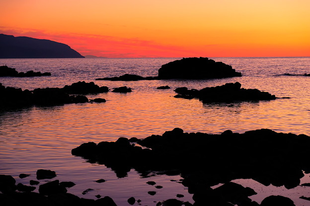 黄金岬の黄昏その2