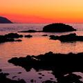 写真: 黄金岬の黄昏その2
