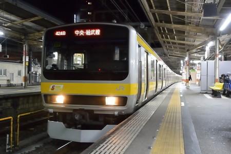 E231系総武緩行線2番電車