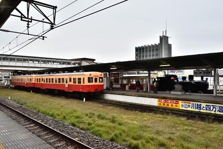 小湊鐡道キハ200と里山トロッコ