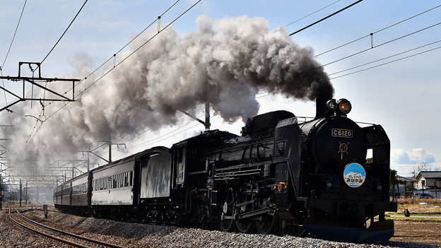 Photos: C61 20+旧型客車SLレトロみなかみ号