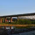 Photos: TRAIN SUITE四季島@一ノ戸川橋梁