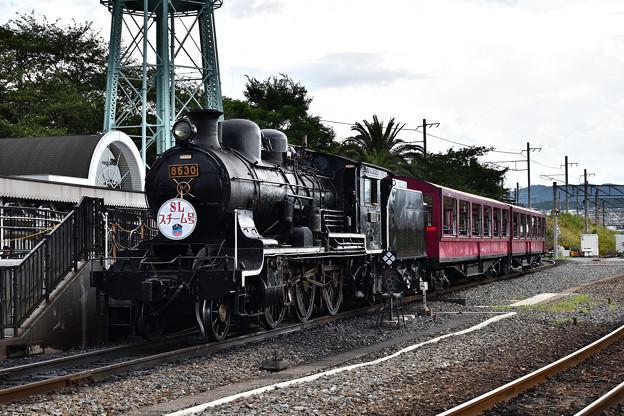 Photos: 8630牽引SLスチーム号