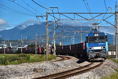 EH200-7牽引上越線高速貨物2092レ