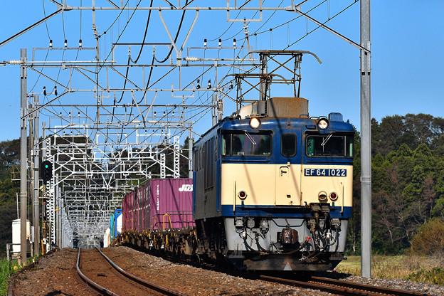 EF64 1022鹿島貨物1094レ