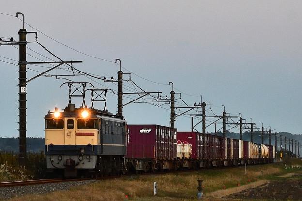 EF65 2139牽引鹿島貨物1092レ