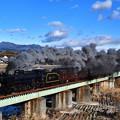 Photos: D51 498牽引臨時快速SLぐんまよこかわ号