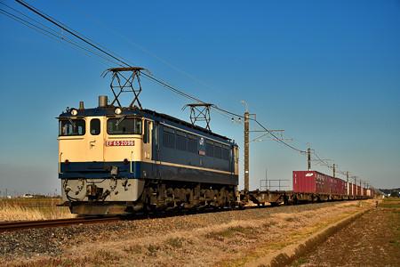 EF65 2096牽引鹿島貨物1092レ