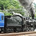 Photos: C61 20+12系客車SLぐんまみなかみ号(水上発車後追い)