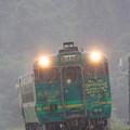 Photos: キハ40 IN RAIN