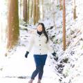 写真: 冬化粧