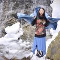 Photos: 雪消エ月
