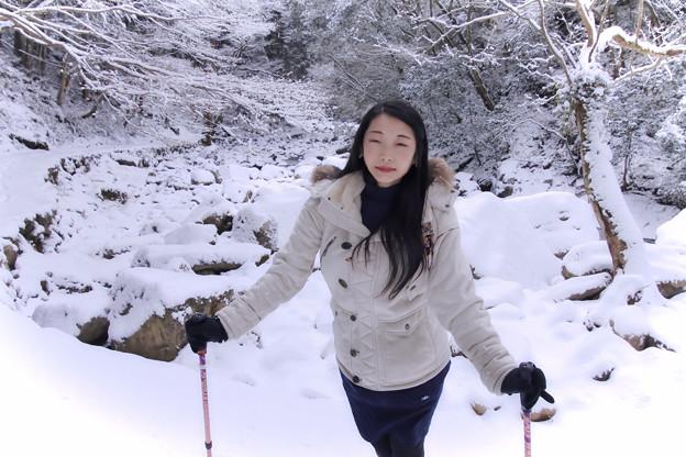写真: 雪肌