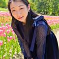 写真: No matter how beautiful the flowers are.
