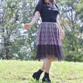写真: A dancer in the forest