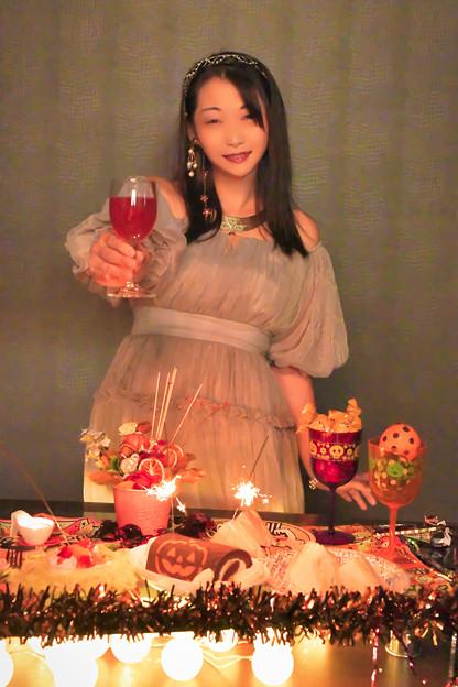 A toast to Halloween