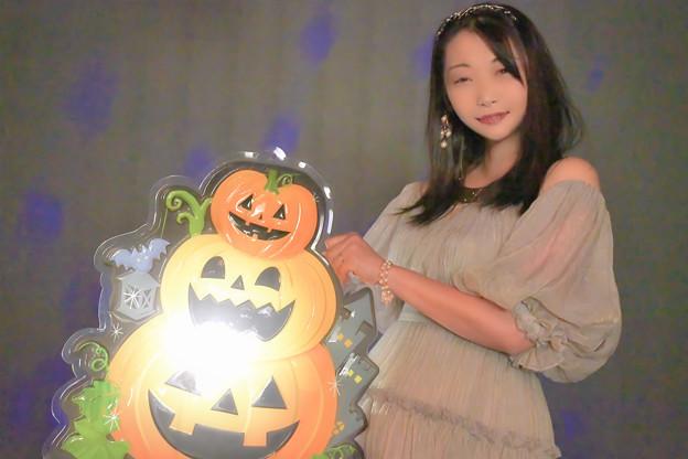Shining pumpkin
