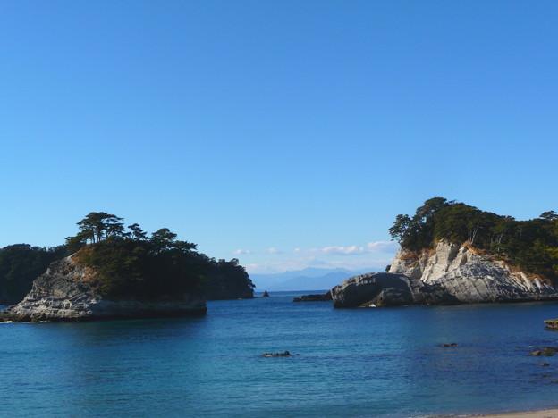 写真: 紺碧の海