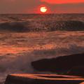 Photos: 荒れる海