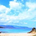 Photos: 碧い海
