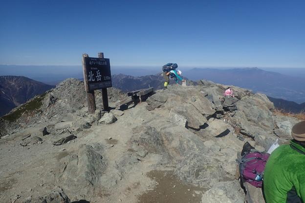 北岳第四尾根登攀(27)