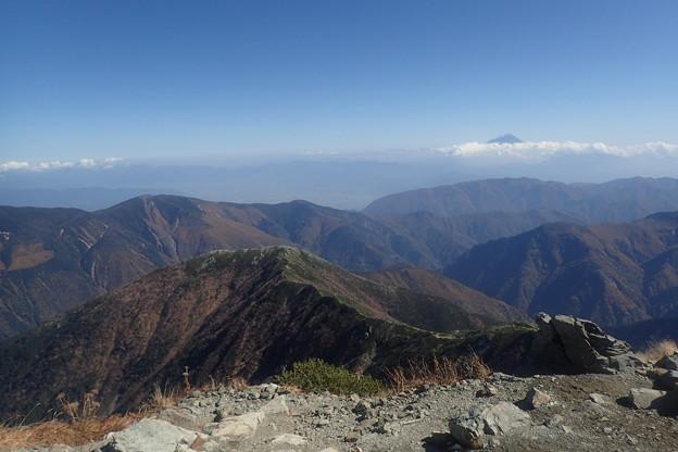 北岳第四尾根登攀(28)