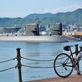写真: 呉の潜水艦
