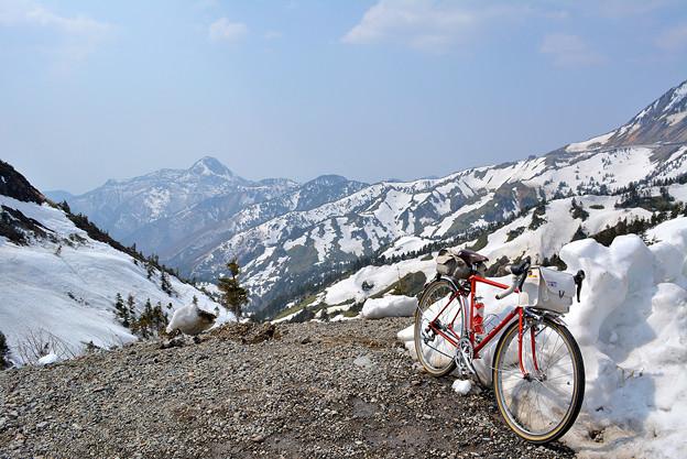 山田峠付近からの眺望