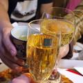 Photos: ピザで乾杯!!
