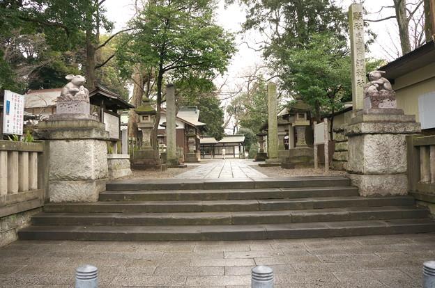 調(つき)神社です。