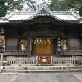 写真: 調神社拝殿