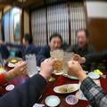 Photos: 二次会でも乾杯!!
