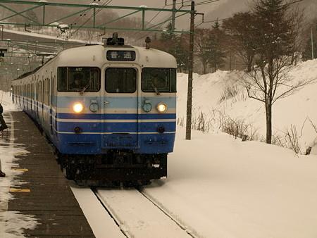 115系(土合駅構内)