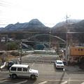 写真: 吾妻線の車窓(長野原草津口手前)