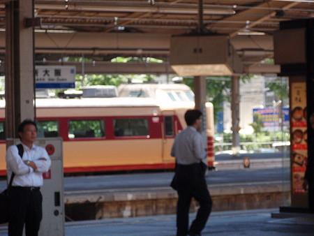 485系(新大阪駅)