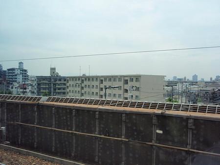新幹線からの車窓