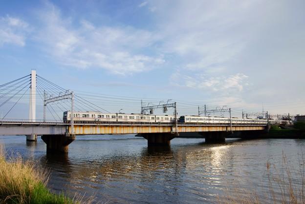 京成電鉄 中川橋梁