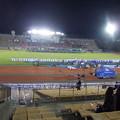 試合終了後挨拶するKGファイターズの選手たち(3)