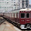 写真: 阪急7000系7011F