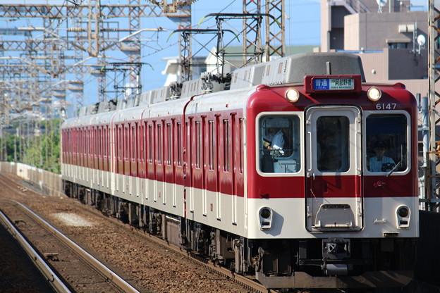 近鉄6020系C73+同C61