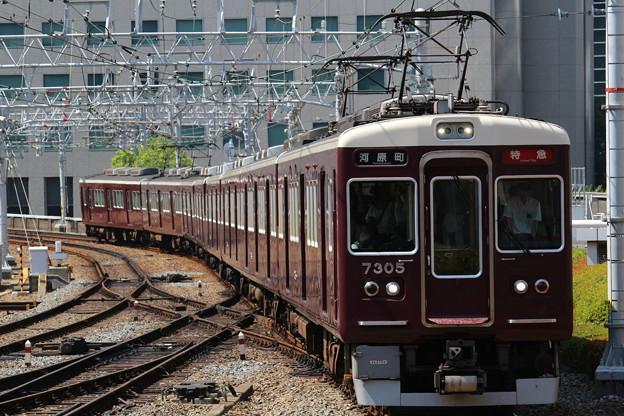 阪急7300系C#7305×8R