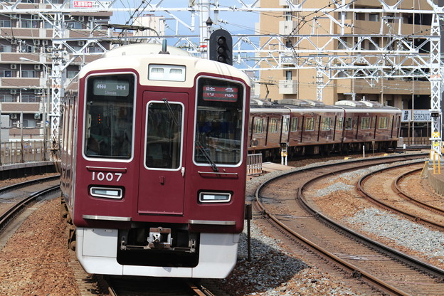 阪急1000系C#1007×8R